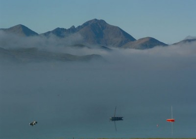Through the mist to Skye