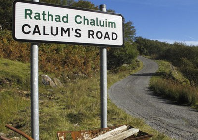 Calum's Road, Raasay North End