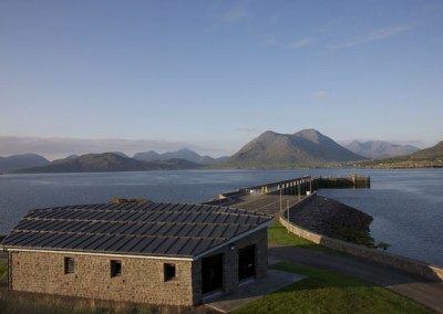 New ferry terminal on Raasay