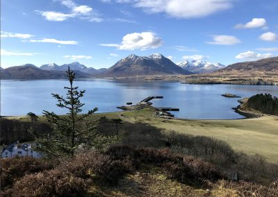 Looking over to Skye